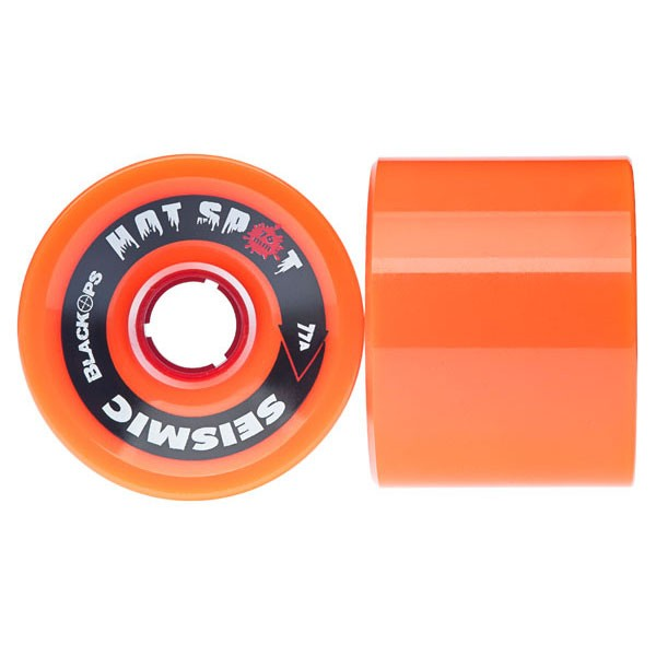 Seismic Hot Spots Longboard Wheels 69mm
