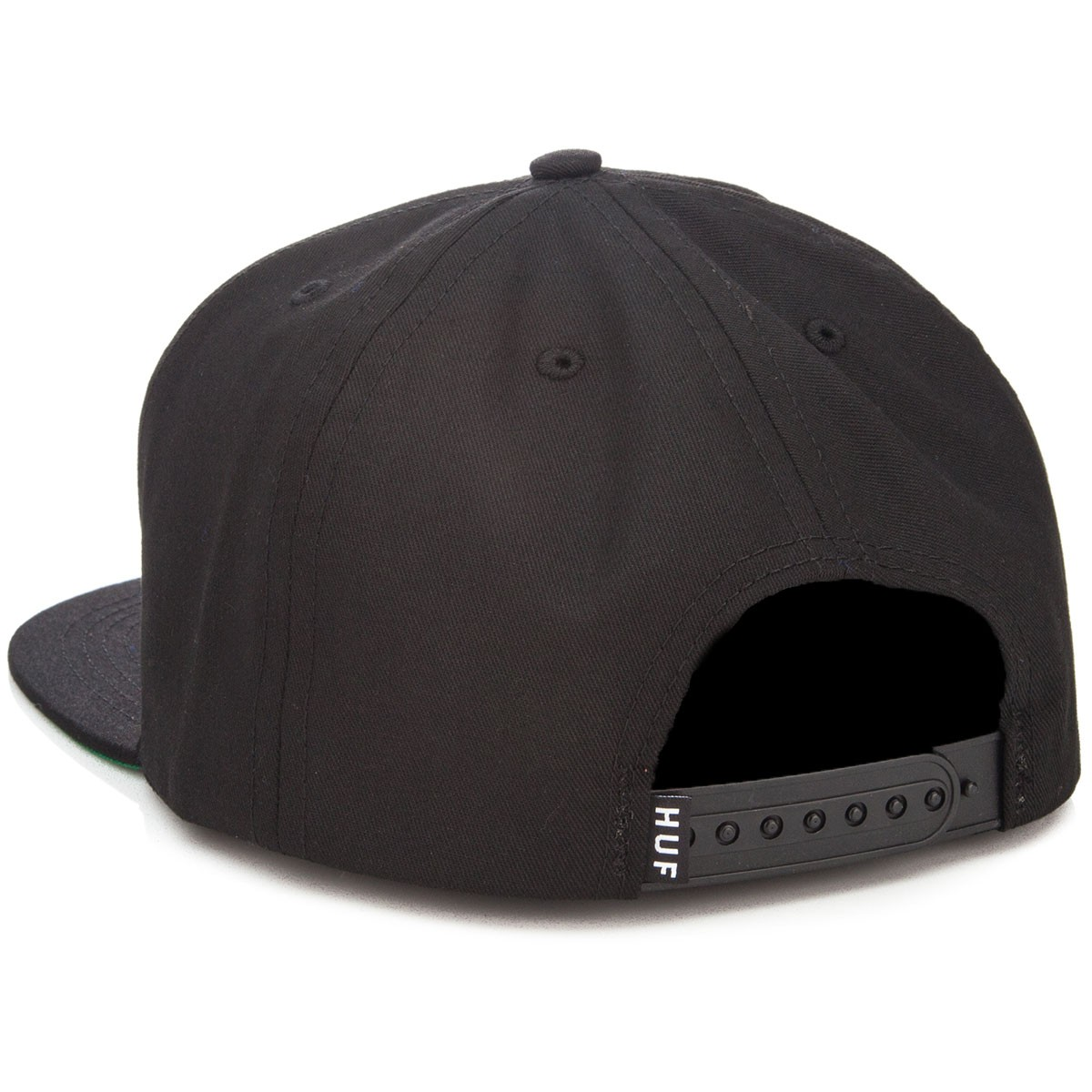 HUF X High Times Embroidered Snapback Hat - Black 35dd62813be7
