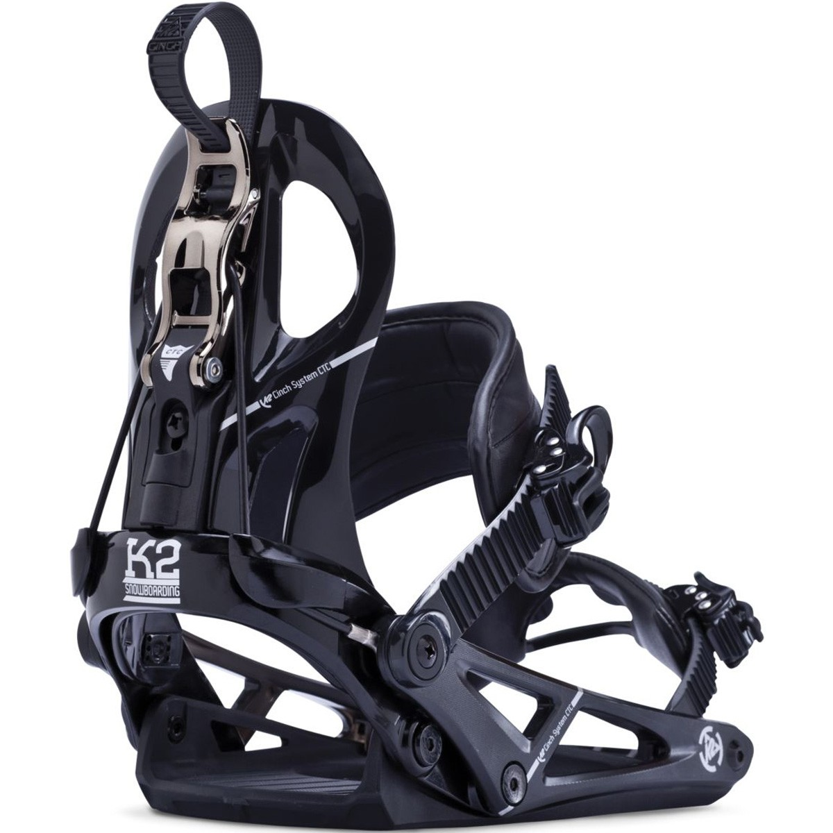K2 Cinch CTC Snowboard Bindings 2014 - Black