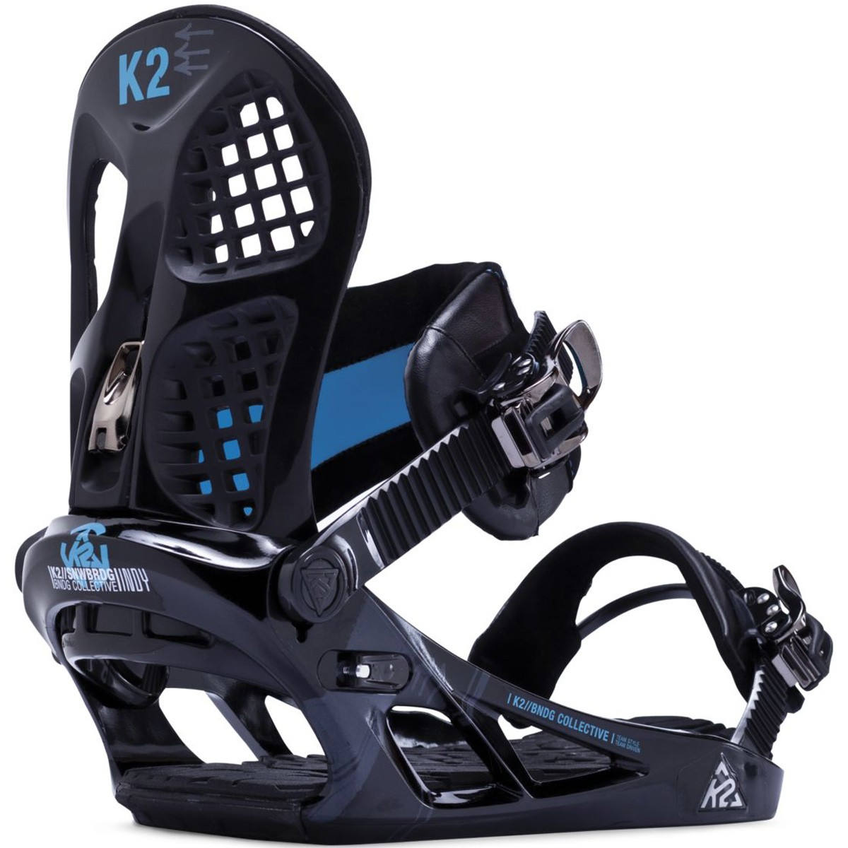 K2 Indy Snowboard Bindings - Black