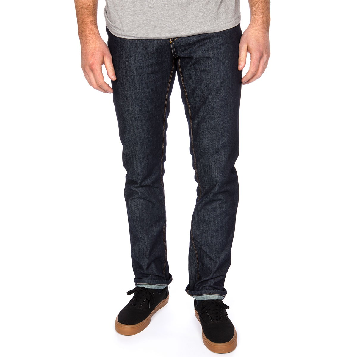 KR3W K Slim Jeans - Raw Blue