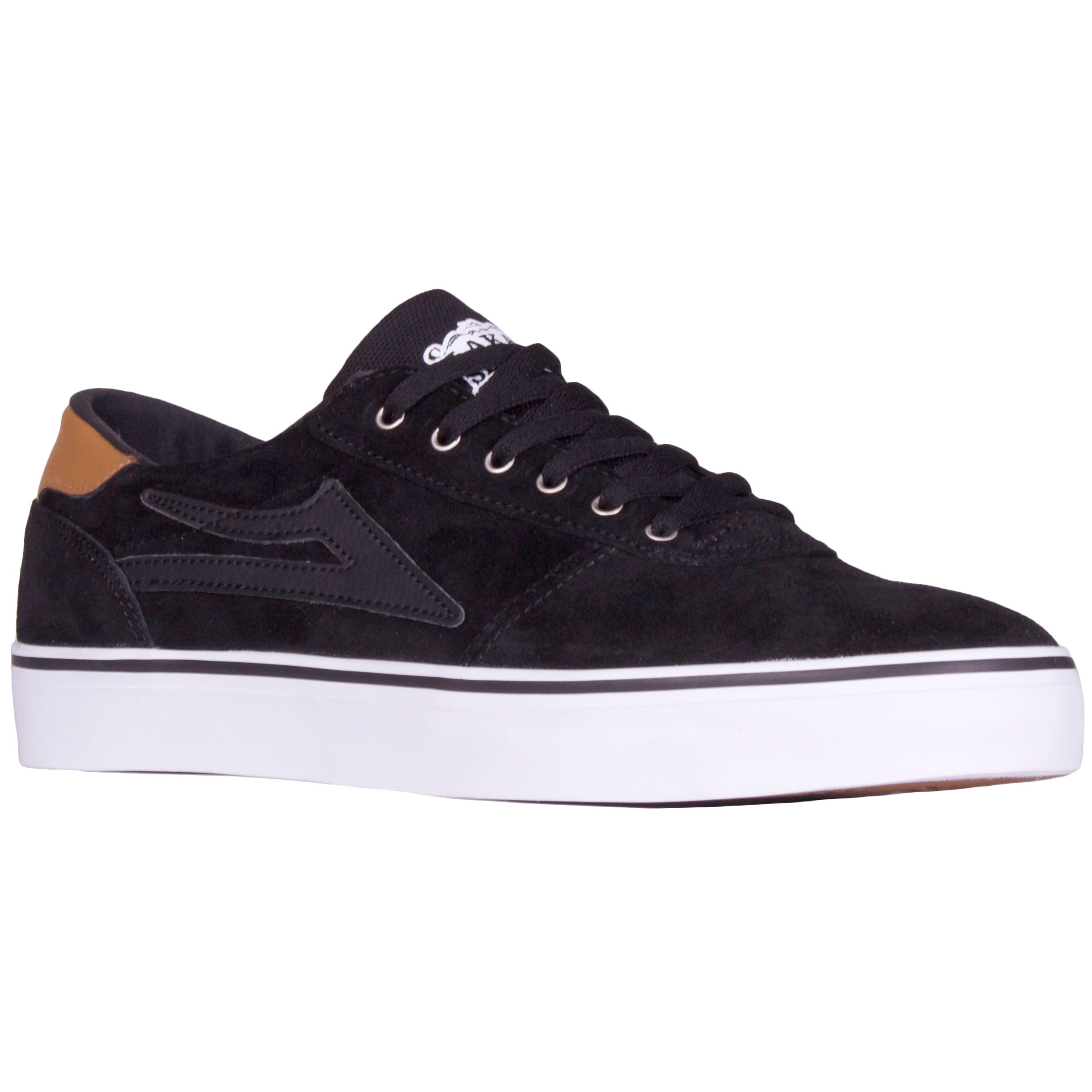 Lakai Manchester Lean Shoes - Black Suede - 8.0
