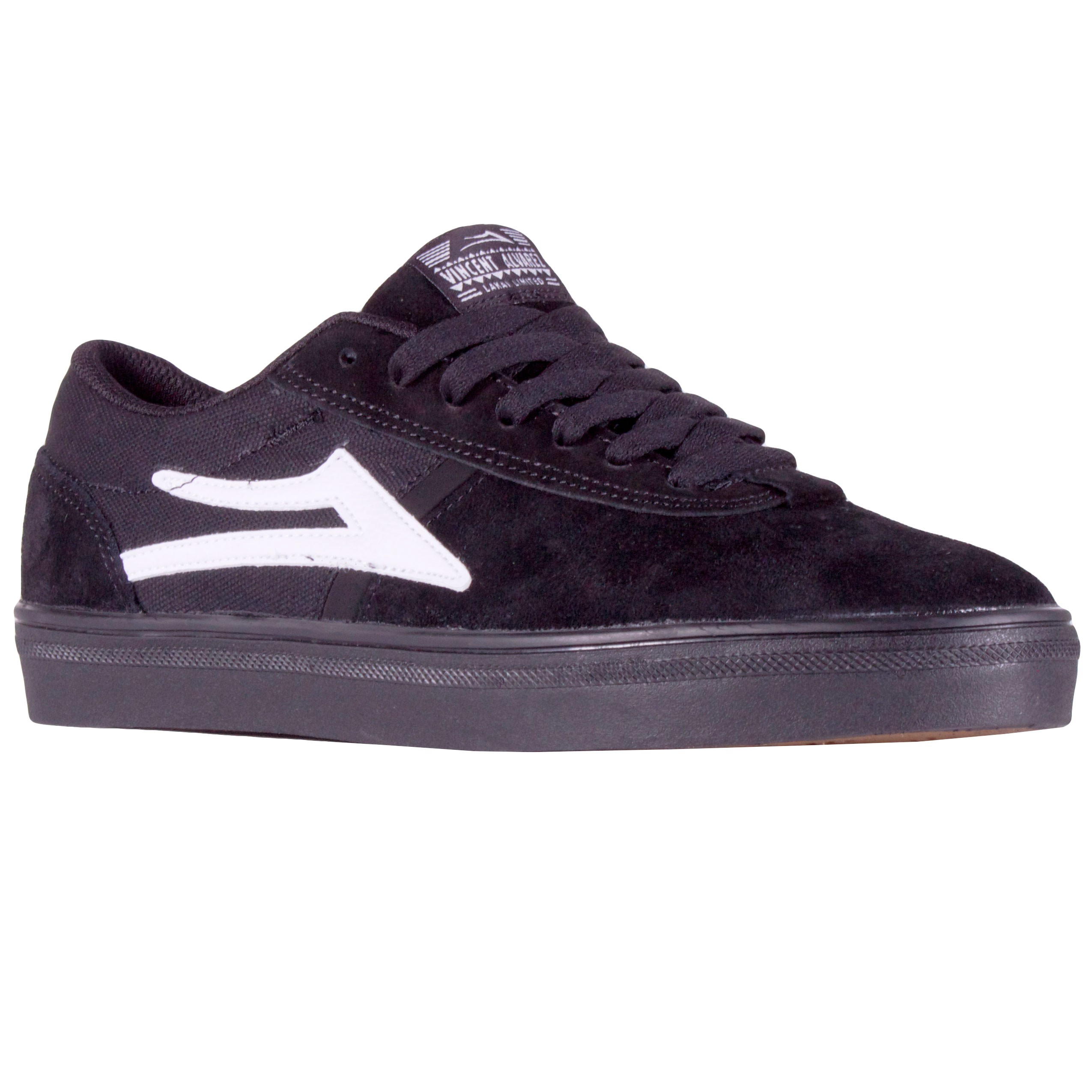 Lakai Vincent Shoes - Black / Black - Black/Black - 8.0