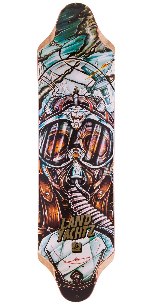 Landyachtz Top Speed 36 Longboard Skateboard Deck