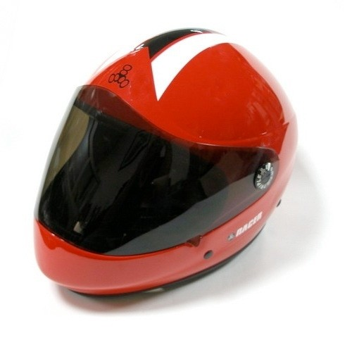Triple Eight Racer Helmet - Red