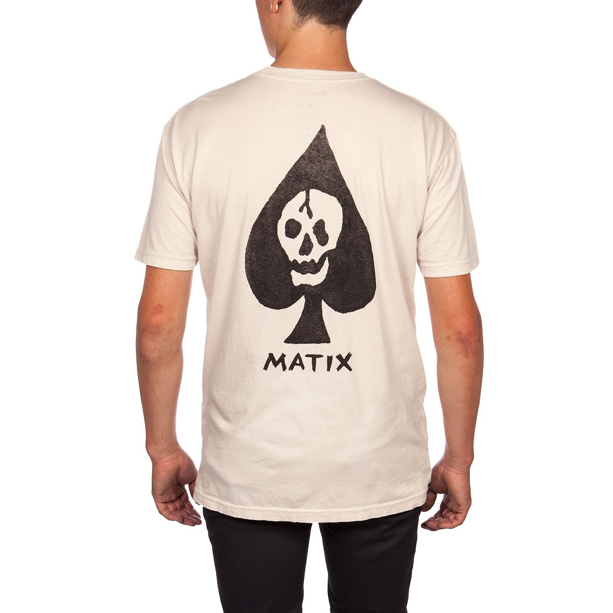 Matix Deathcard Pocket T-Shirt - Natural