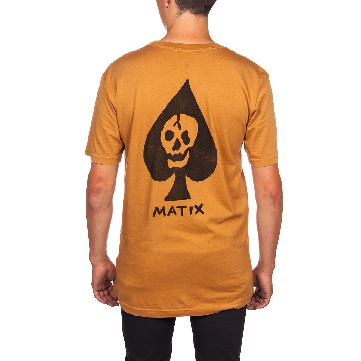 Matix Deathcard Pocket T-Shirt - Tobacco