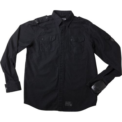 Sector 9 Sharps SST Slide Puck Longsleeve Shirt - Black