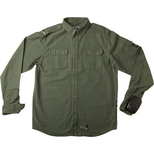 Sector 9 Sharps SST Slide Puck Longsleeve Shirt - Green