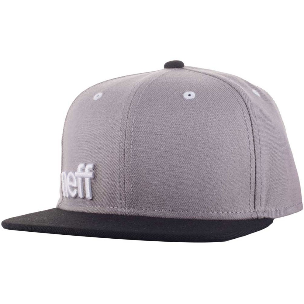 Neff Daily Cap Adjustable Hat - Grey/Black/White