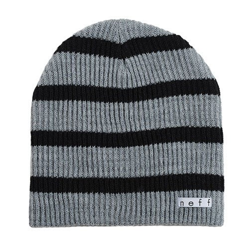 Neff Daily Stripe Beanie - Grey/Black