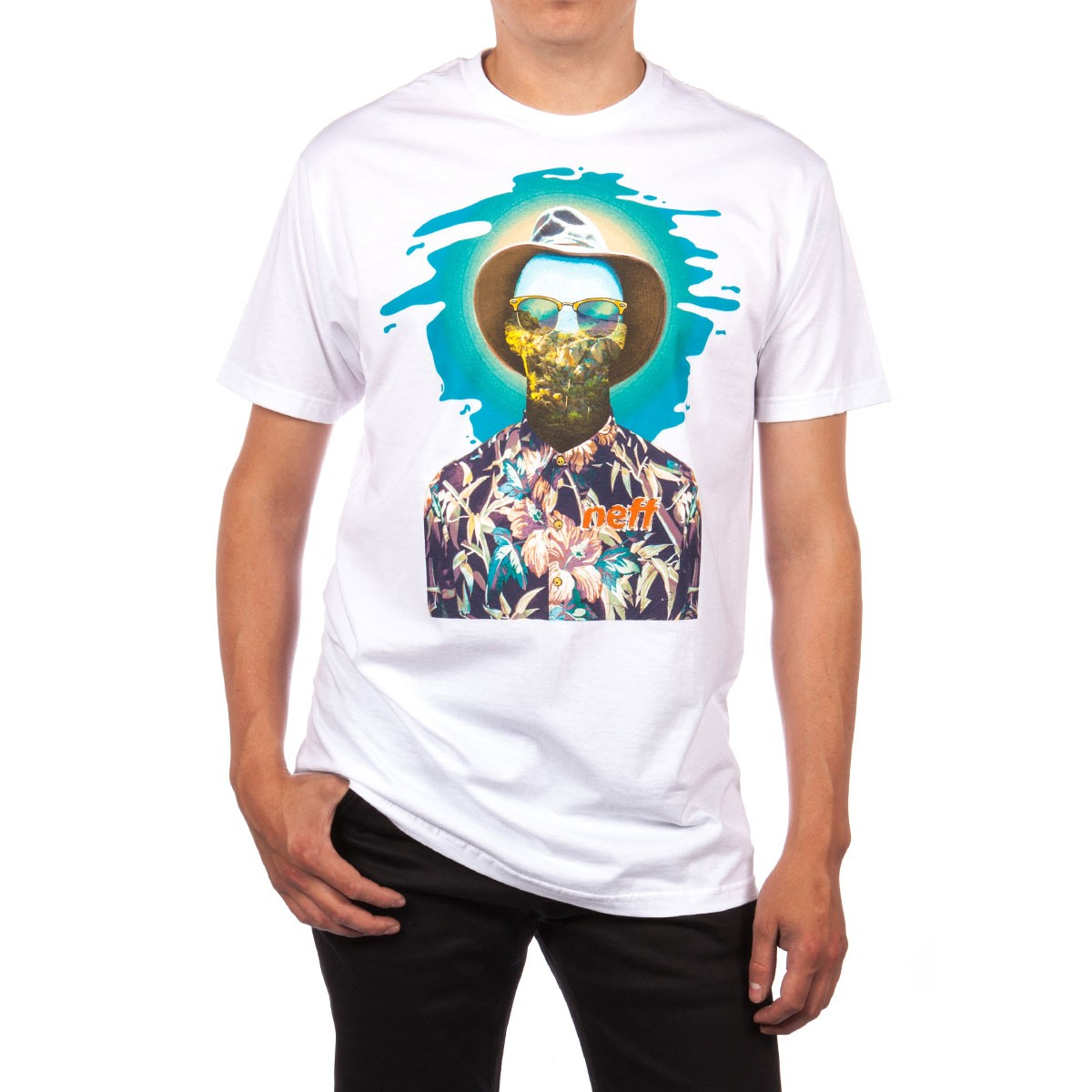 Neff The Dude T-Shirt - White