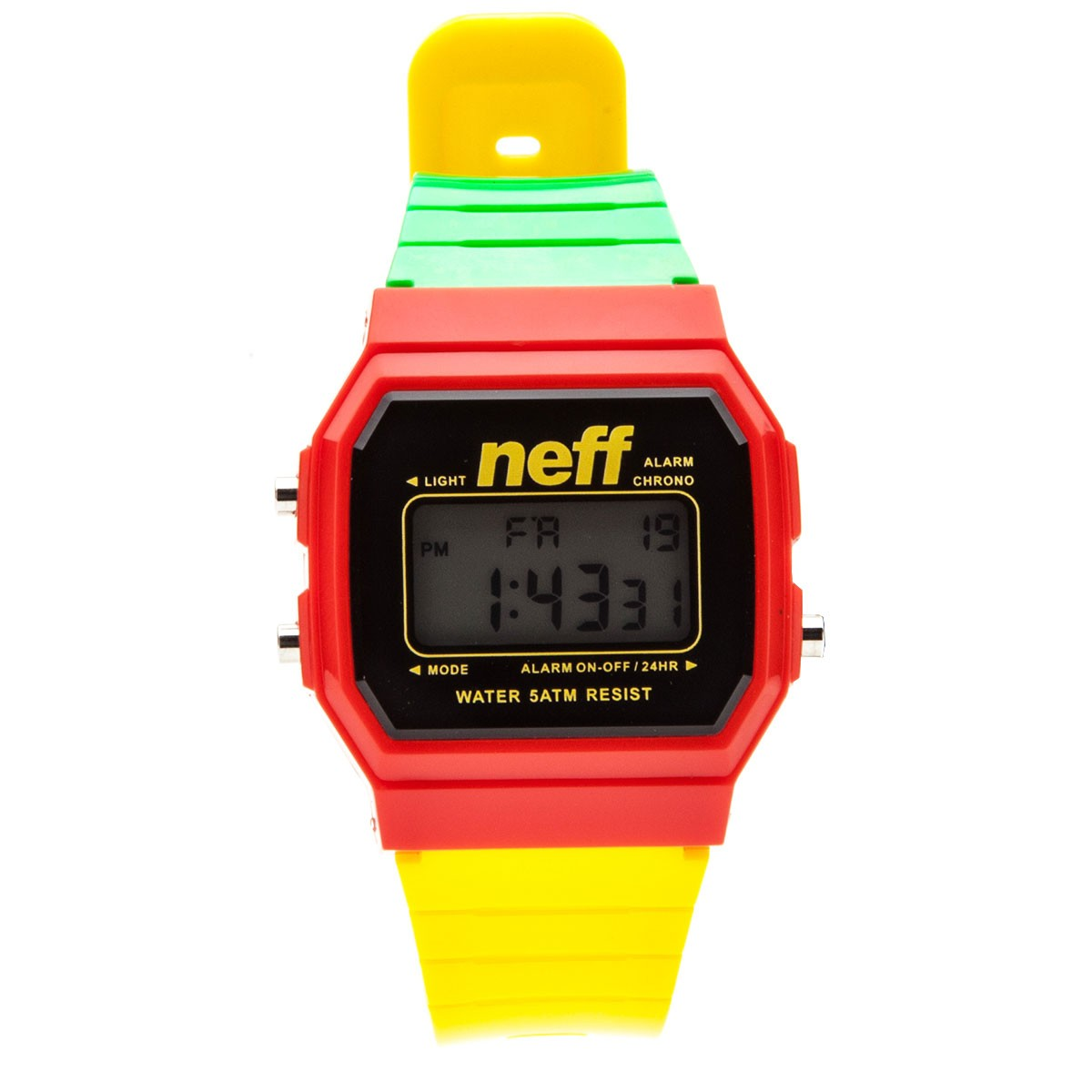 Neff Flava Watch - Rasta