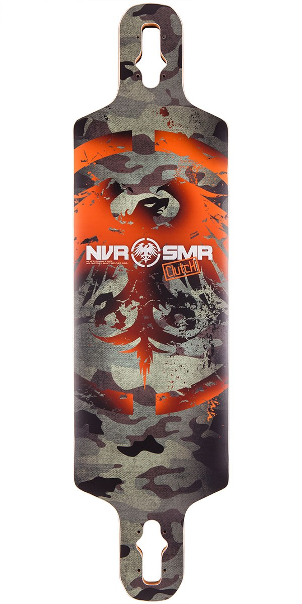 Never Summer Clutch Longboard Skateboard Deck - 2014 V2