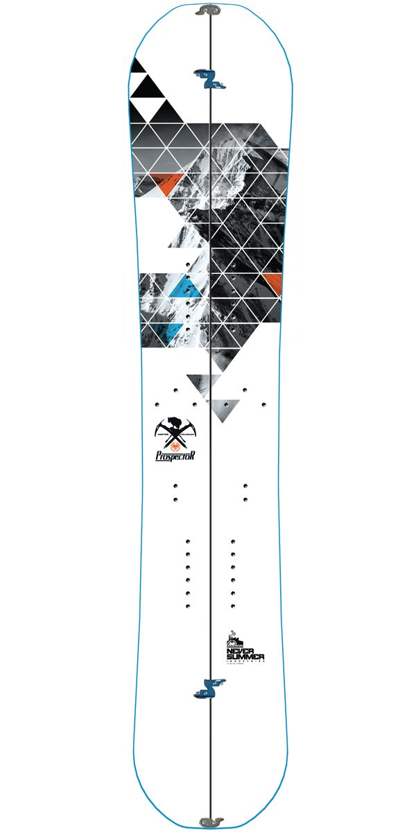 Never Summer Prospector X Splitboard 2015