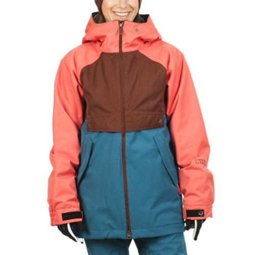 Nikita Esja Women's Jacket - Andorra/Cayenne/Ink Blue