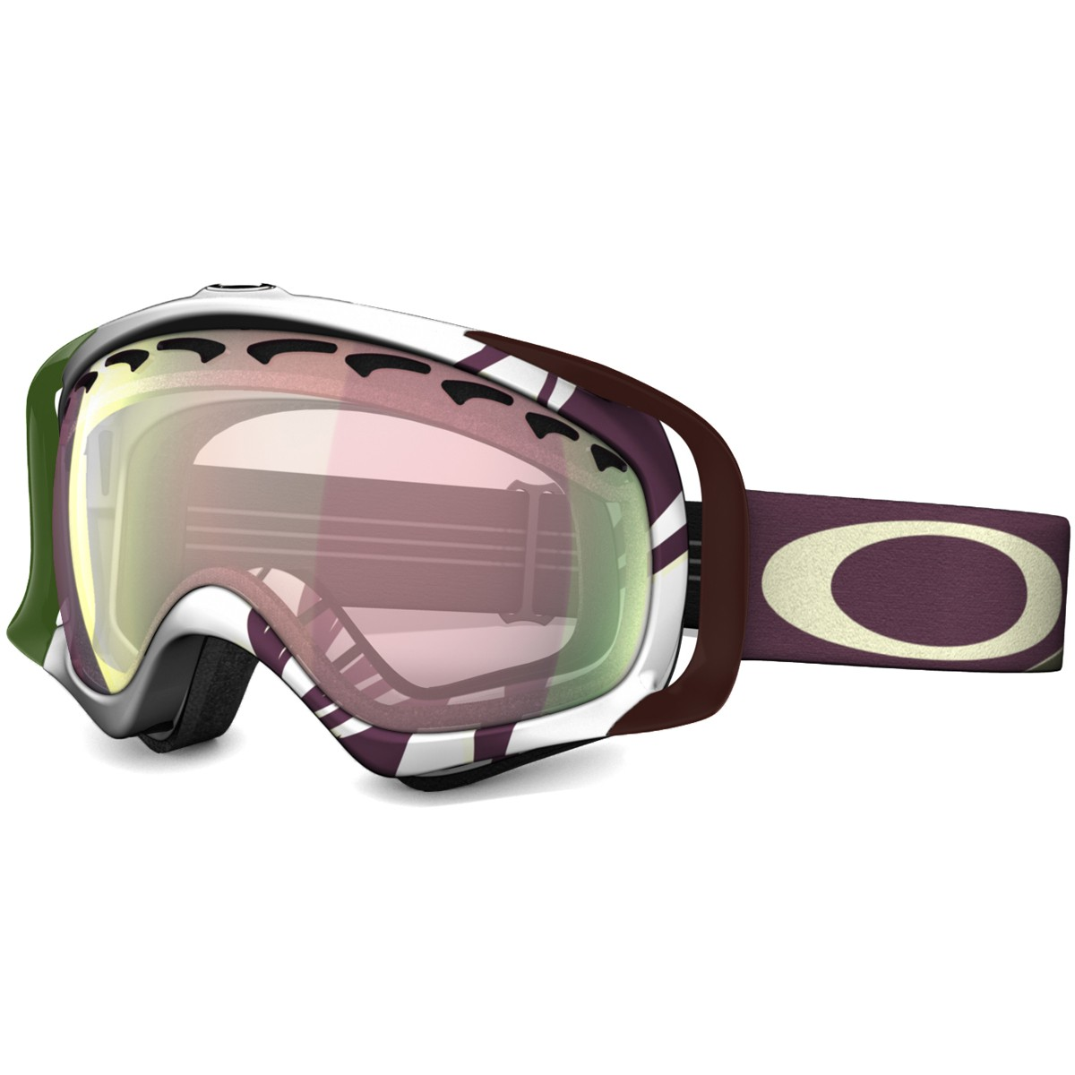 cheap youth oakley sunglasses ue7w  Oakley Crowbar Pink Iridium