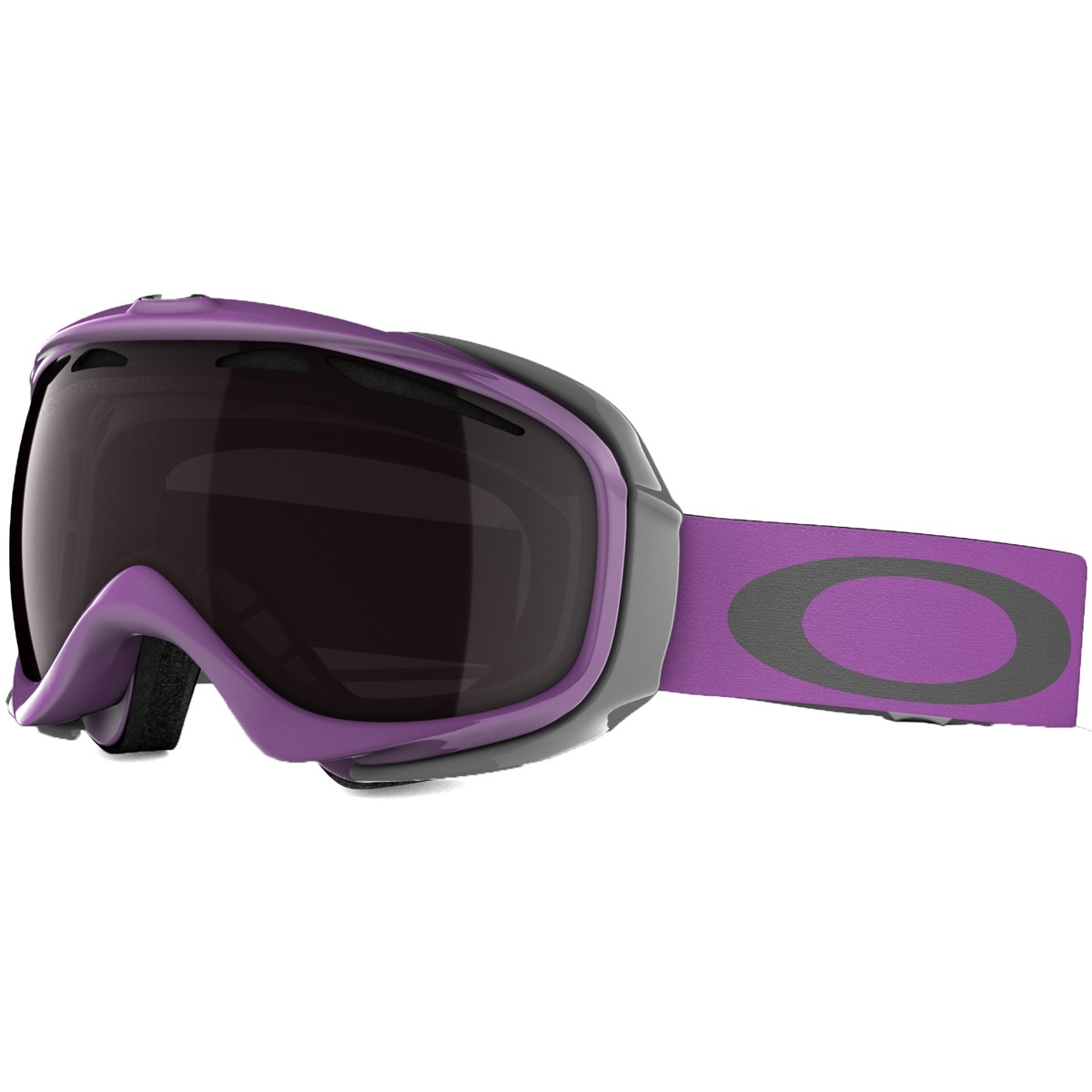 Oakley Elevate Snowboard Goggles 2015 - Purple Sage - Black Rose Iridium