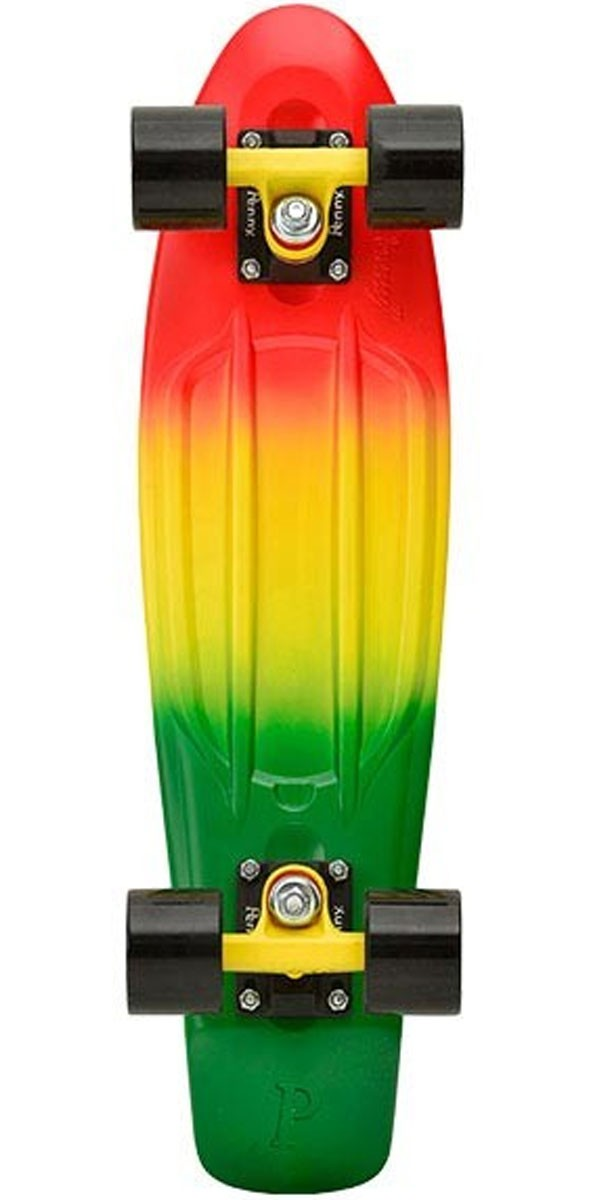 Penny Complete Skateboard - Red / Yellow / Green Fade