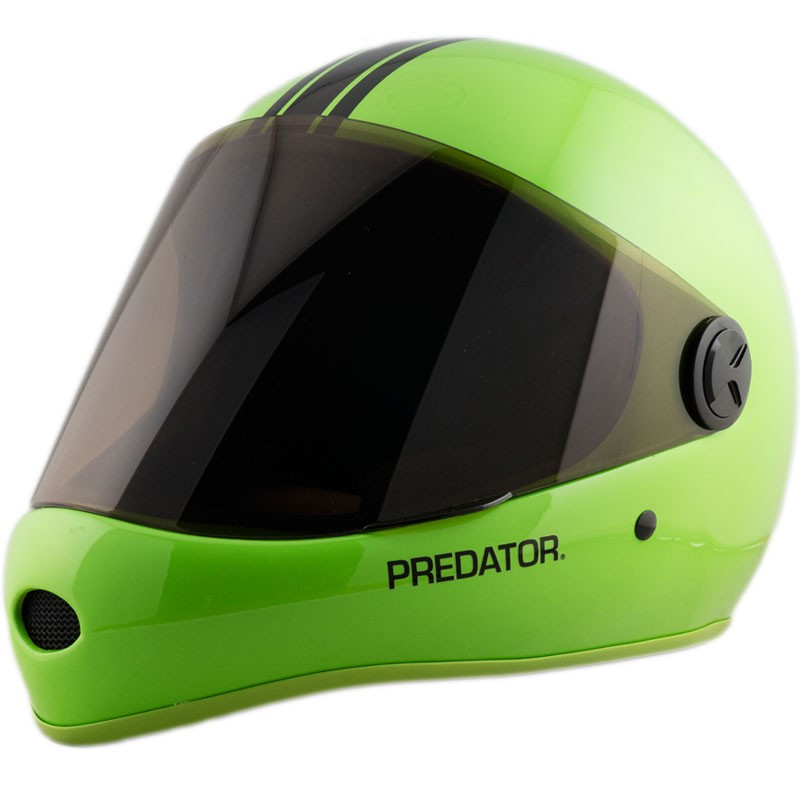 Predator DH6 Full Face Race Helmet - Lime