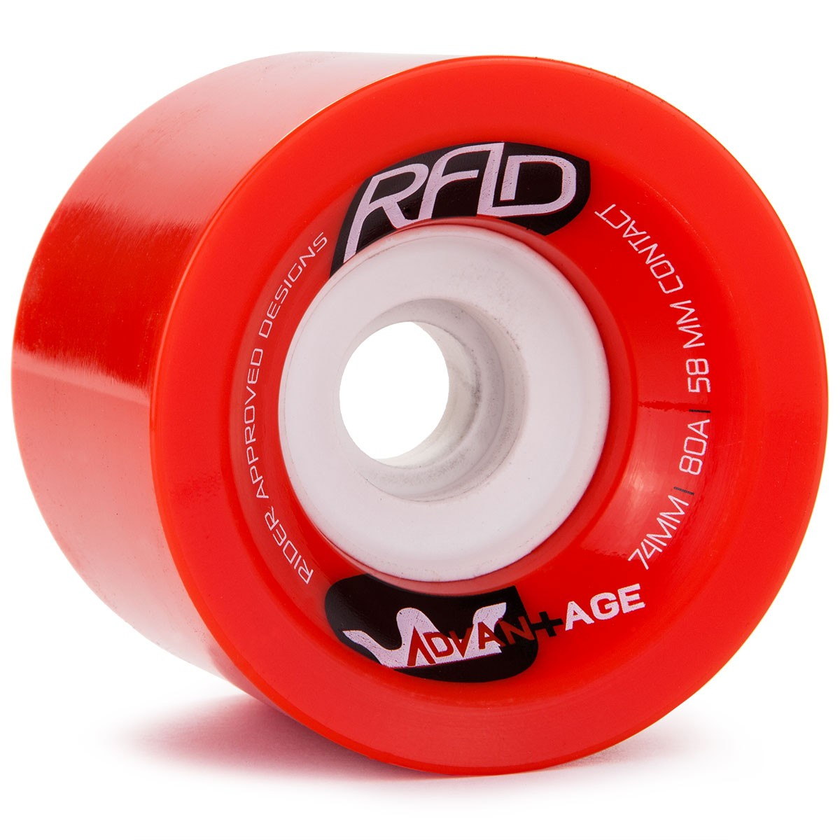 RAD Advantage Longboard Wheels 74mm