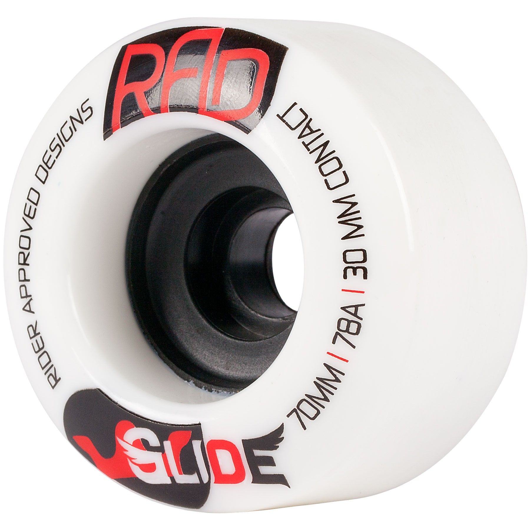 RAD Glide Longboard Wheels 70mm