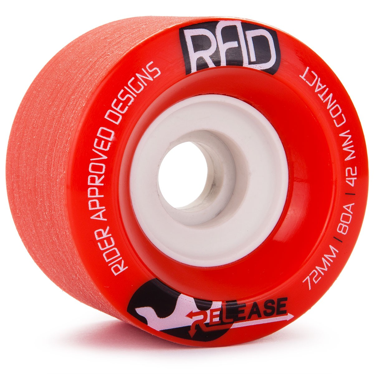 RAD Release Longboard Wheels 72mm