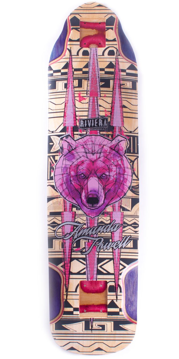 Riviera Ursa Major Amanda Powell Pro Model Longboard Skateboard Deck