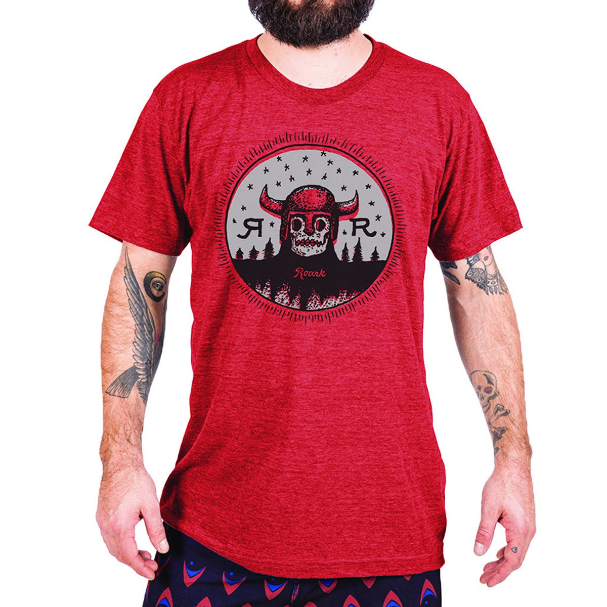 Roark Helion T-Shirt - Heather Red