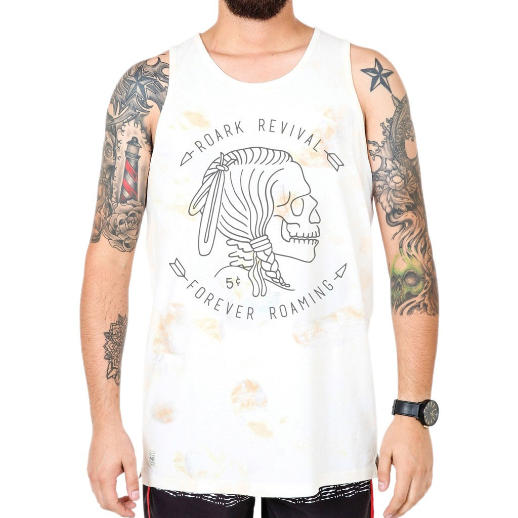 Roark Hobo Nickel Tank - White