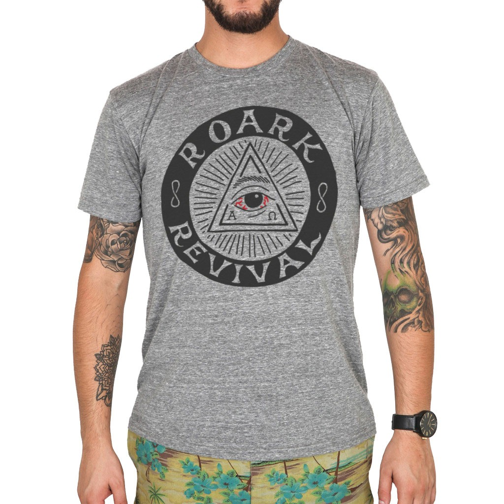 Roark Illuminati T-Shirt - Heather Grey