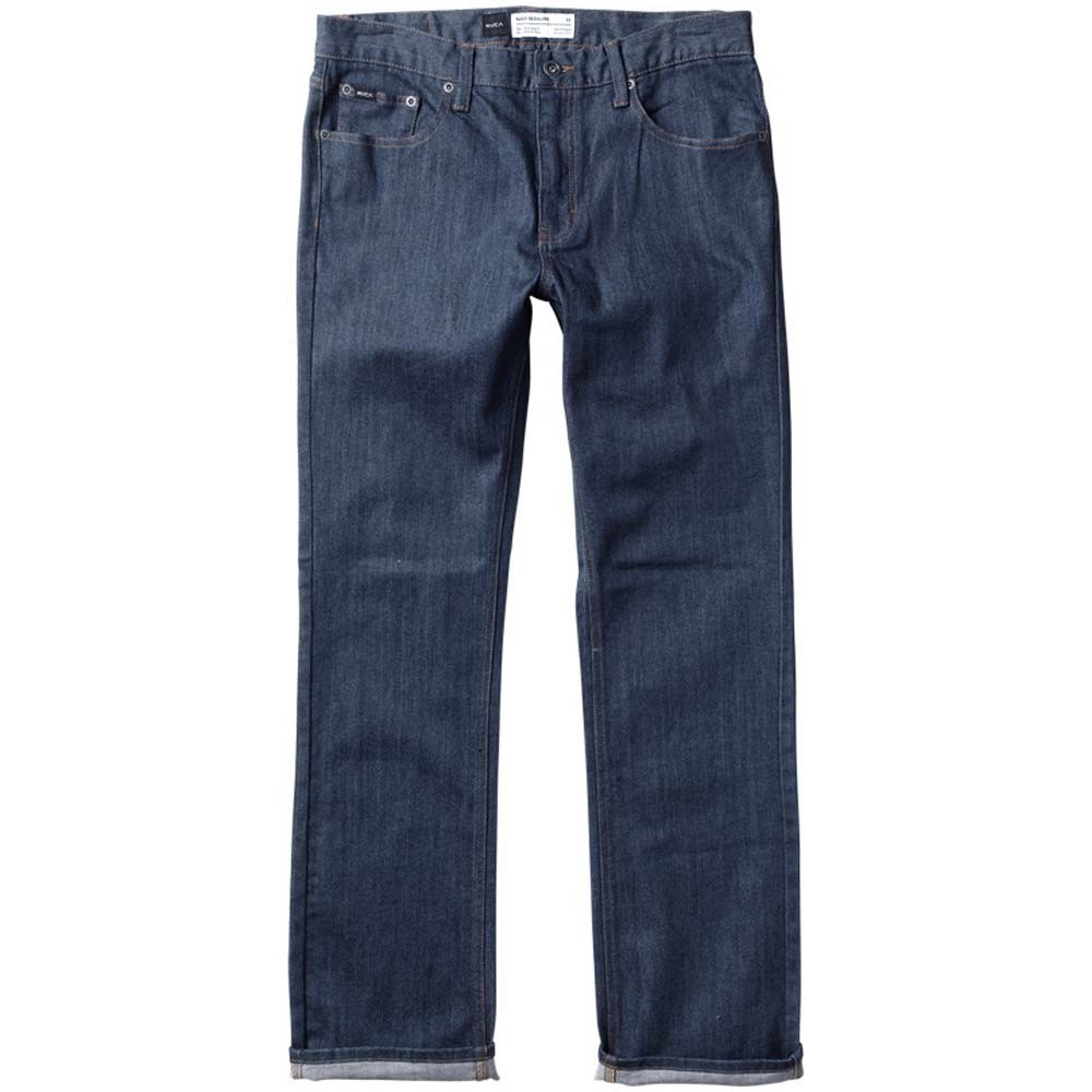 RVCA Youth Regulars Extra Stretch Jeans - Classic Blue