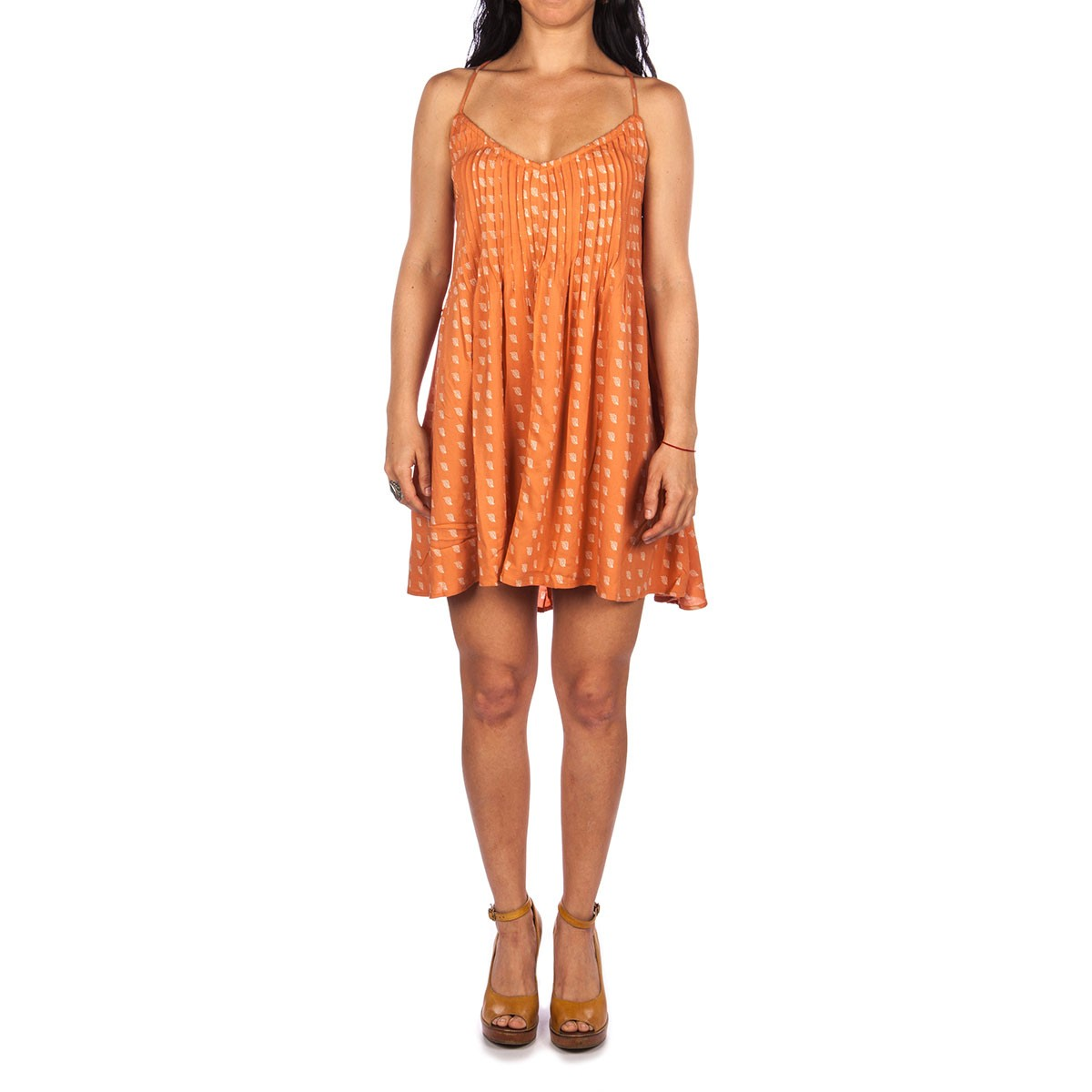 RVCA Told Secrets Dress - Sunburnt