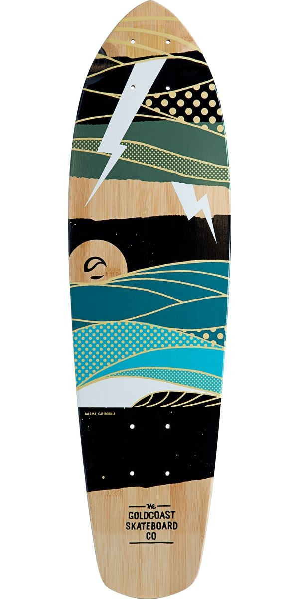 Gold Coast Salvo Longboard Skateboard Deck