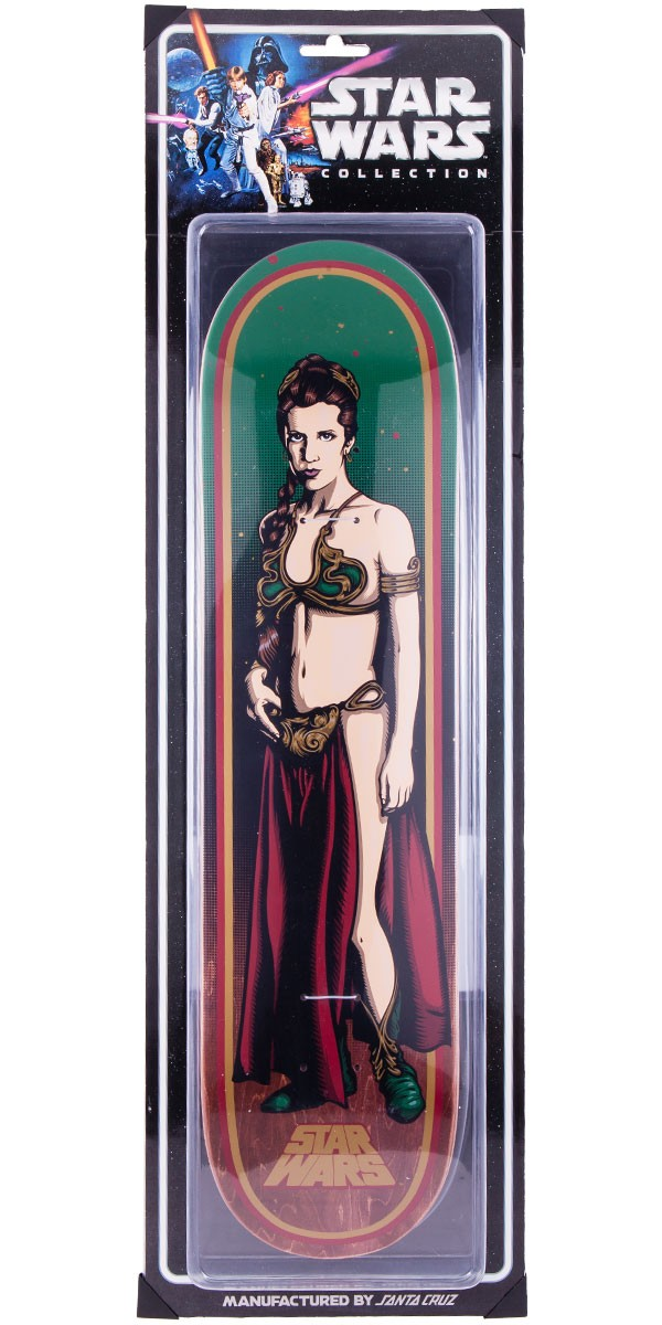 Star Wars Collectible Slave Leia Skateboard Deck - 7.8""
