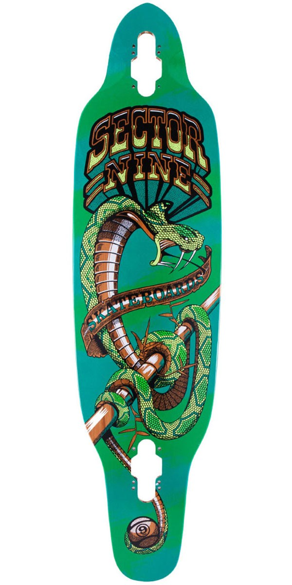 Sector 9 Striker Longboard Skateboard Deck - Green