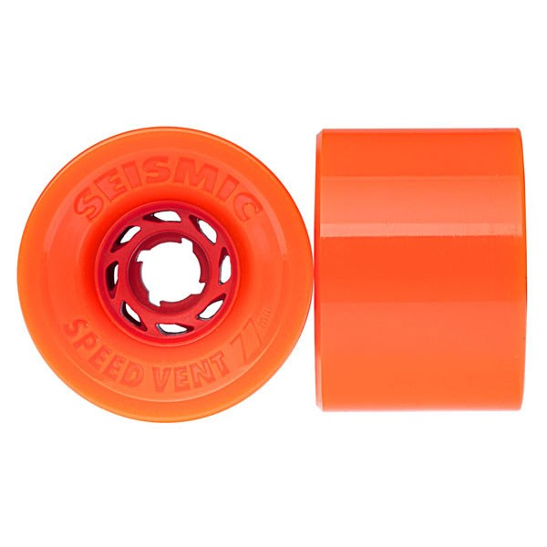 Seismic Speed Vent Longboard Wheels 77mm