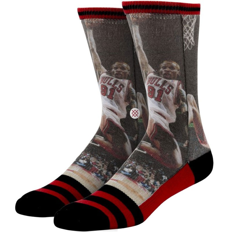Stance Dennis Rodman Socks - NBA Legends