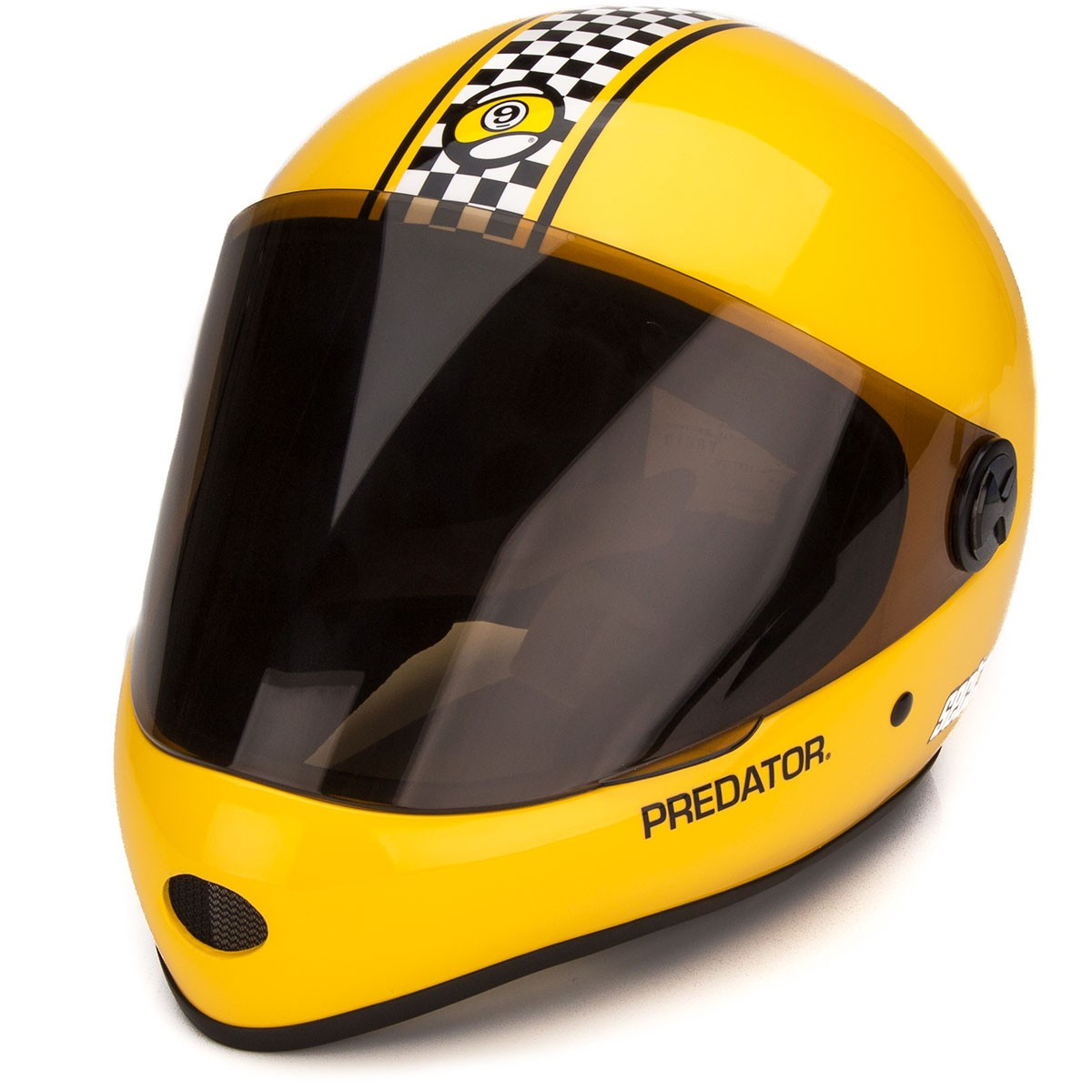Sector 9 Downhill Division Helmet - Yellow
