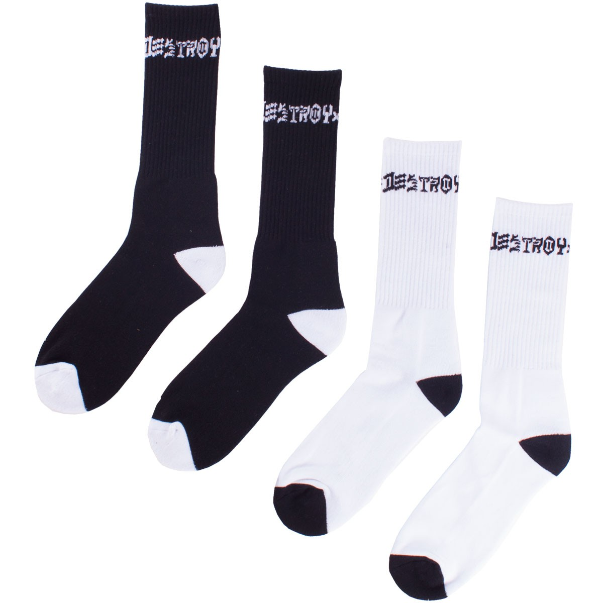 Thrasher Skate and Destroy Socks - 2 Pack