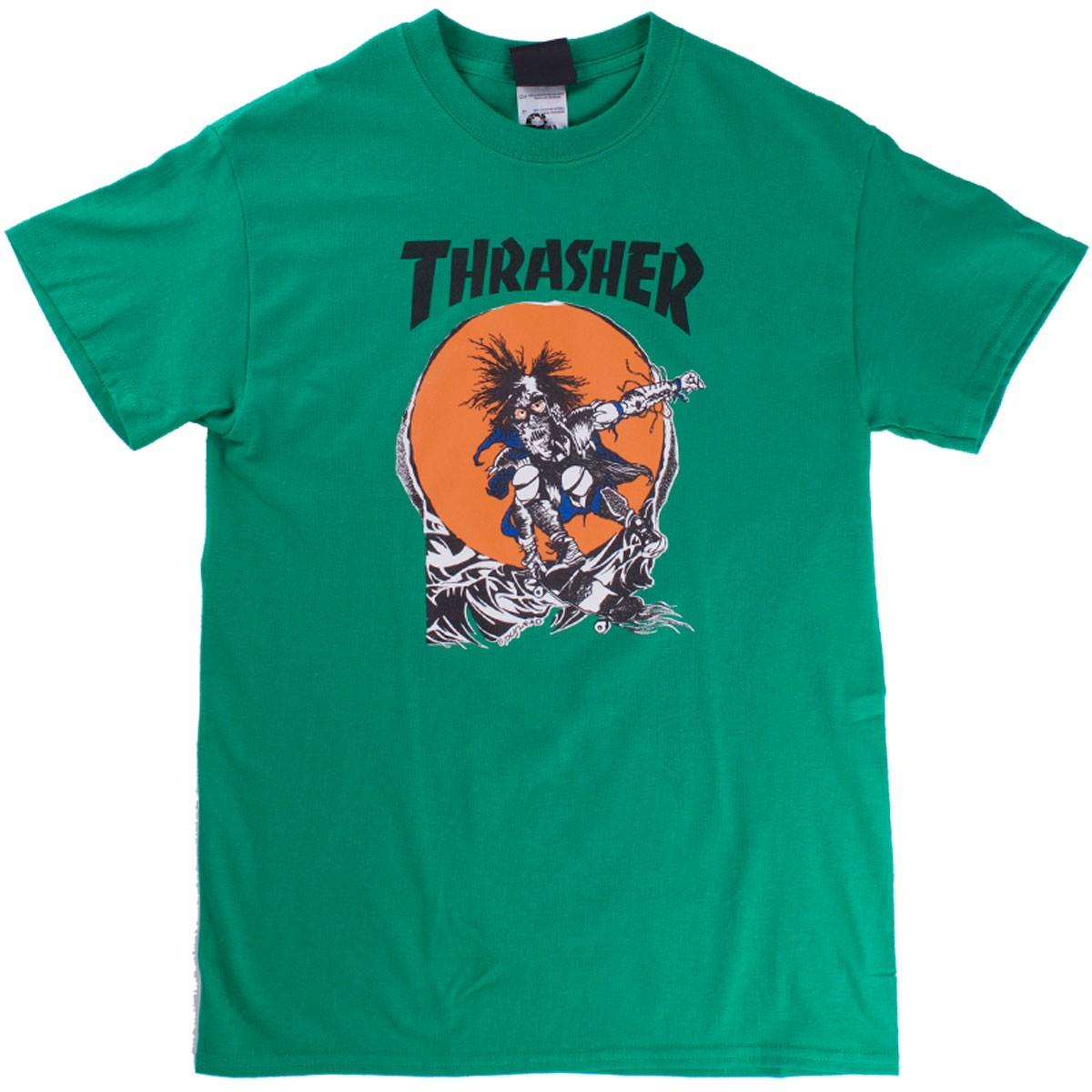 Thrasher Skate Outlaw T-Shirt - Kelly Green