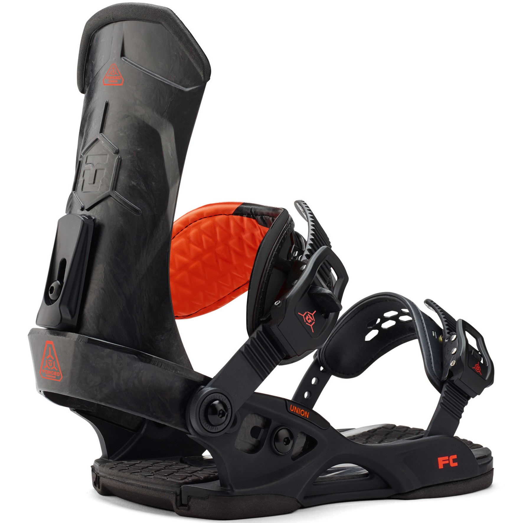 Union FC Snowboard Bindings 2015 - Black