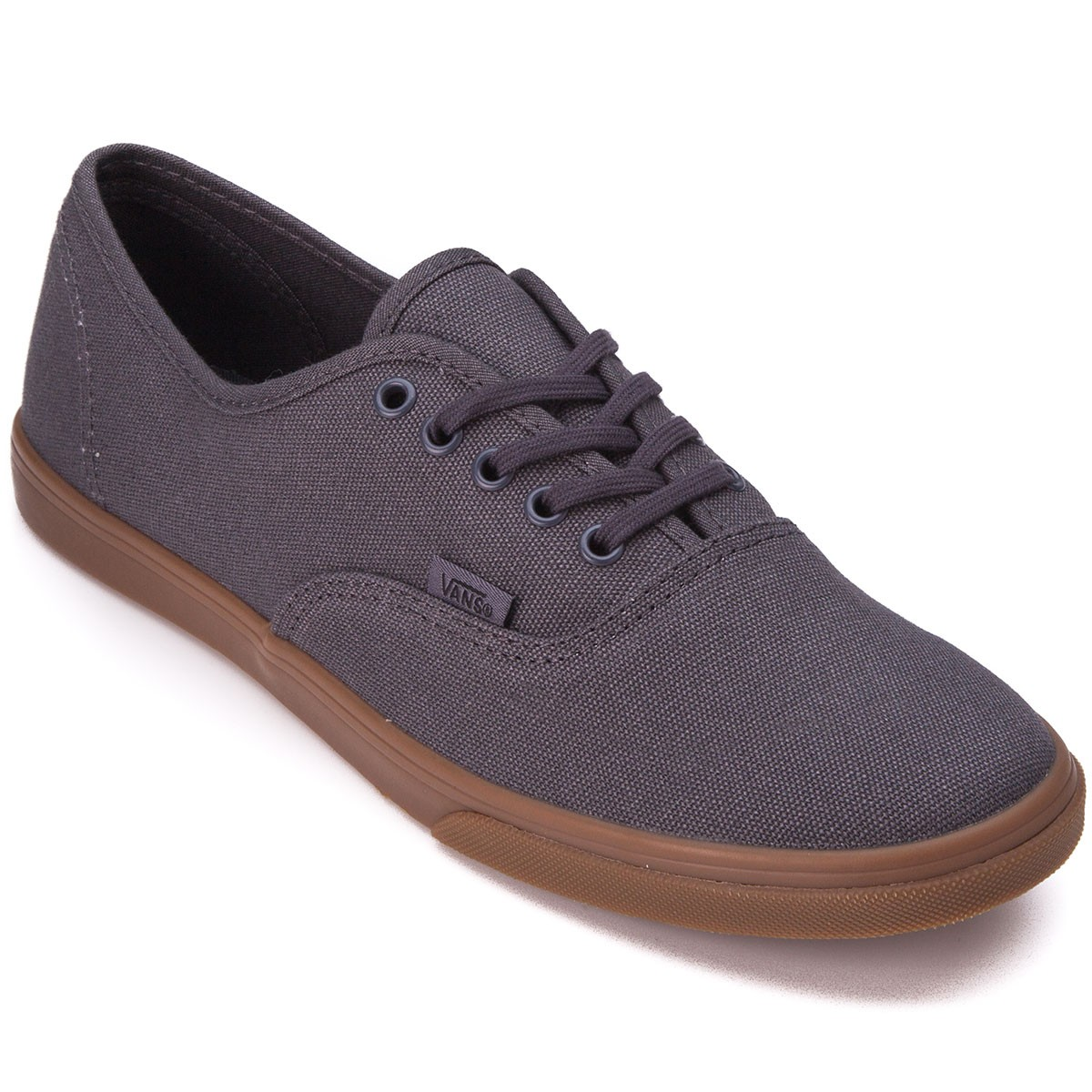 Vans Authentic Lo Pro Womens Shoes - Gumsole/Asphalt - 5.0