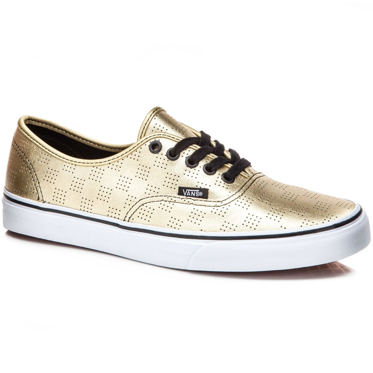Vans Original Authentic Shoes - Gold/Checker