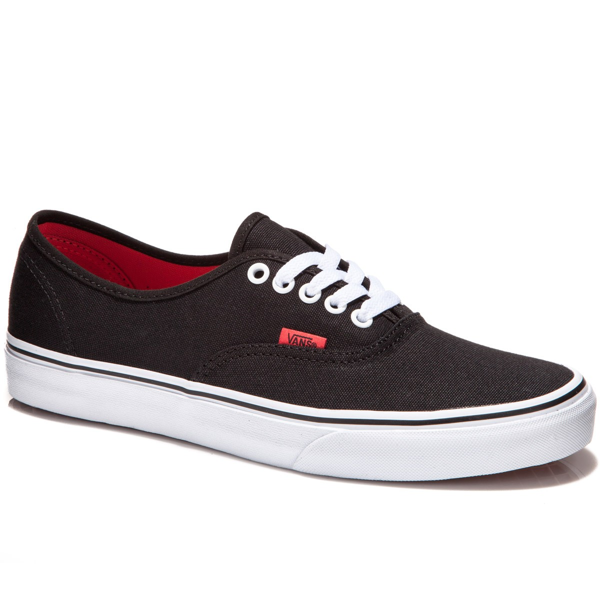 Vans Original Authentic Shoes - Pop Black/Bittersweet - 7.0