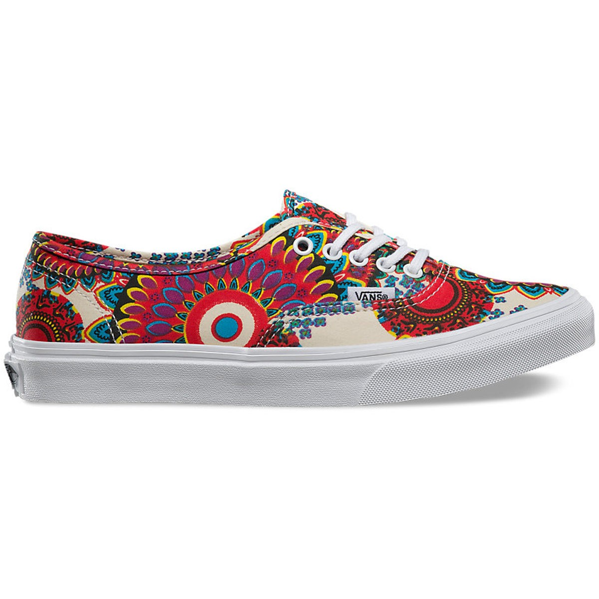 9a8487acff Vans Authentic Slim Geo Floral Shoes