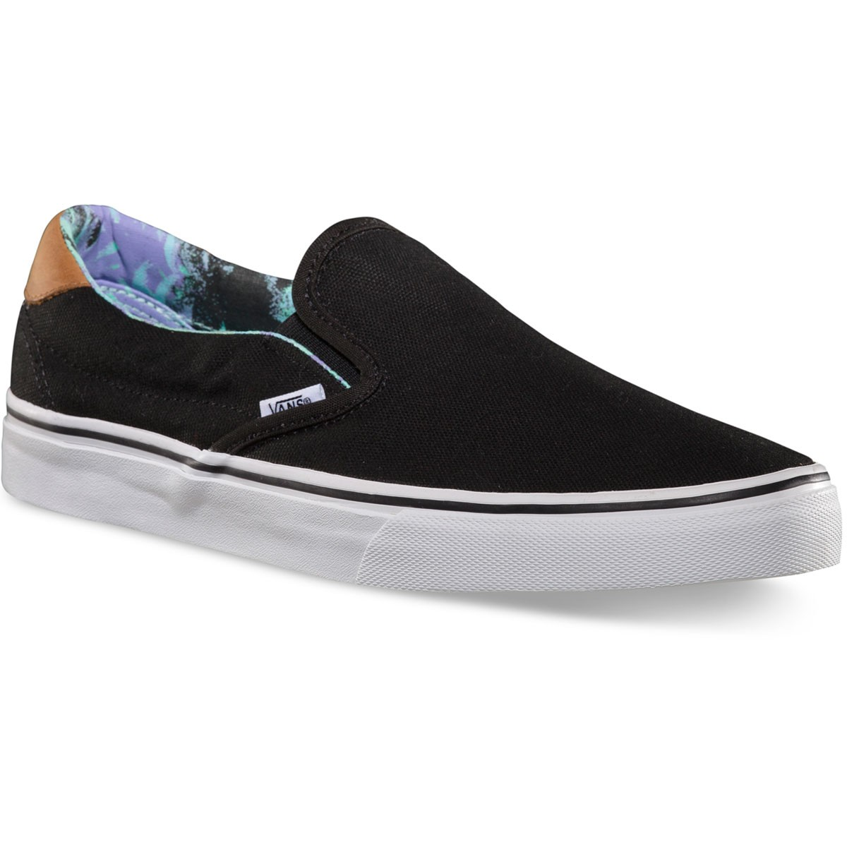 Vans C & F Slip-On 59 Shoes - Black/Beach Glass - 7.0