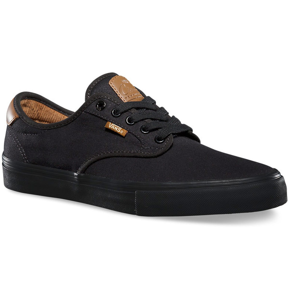 Vans Chima Ferguson Pro Youth Shoes - Black/Black - 5.0