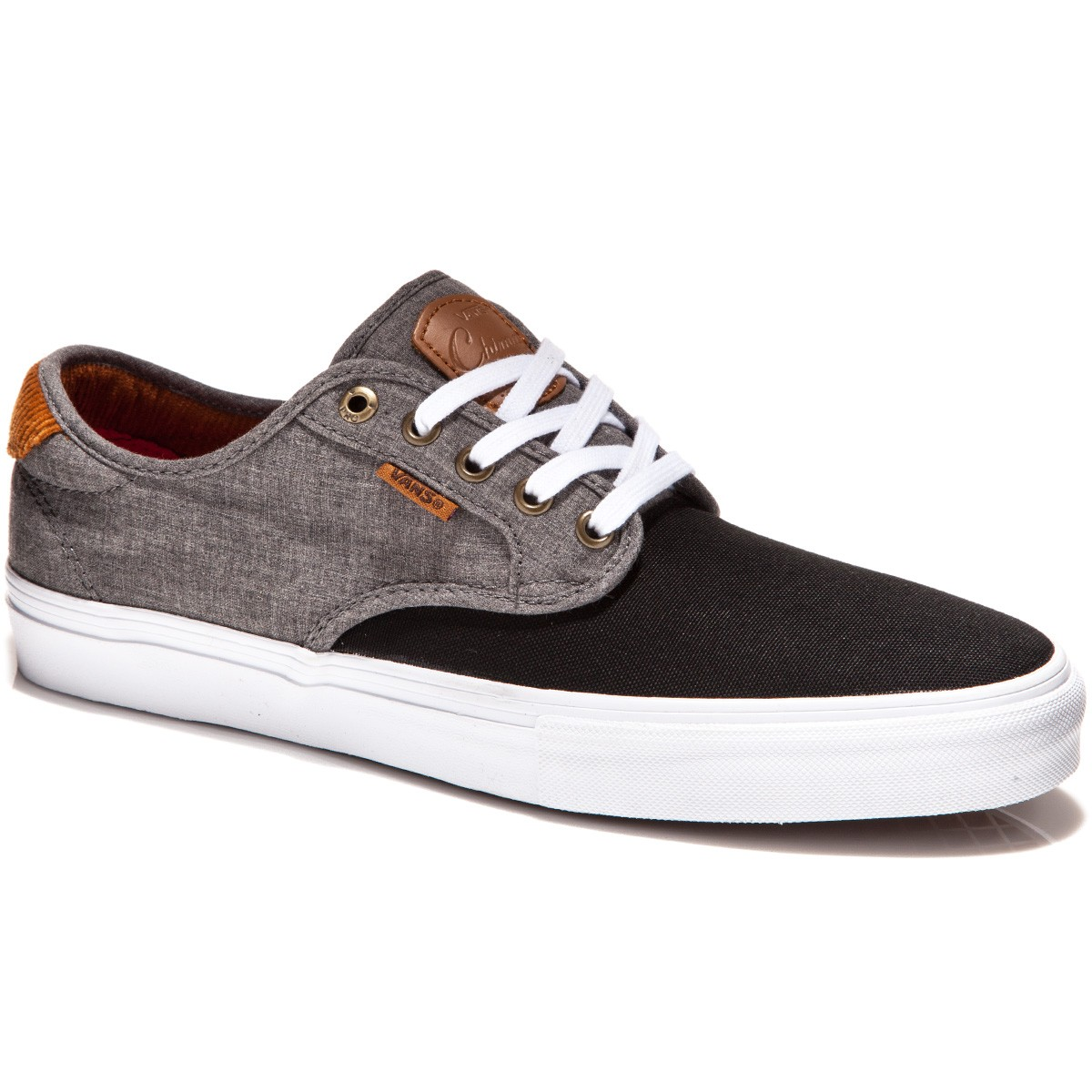 Vans Chima Ferguson Pro Shoes - Cord Black/Chambray - 7.0