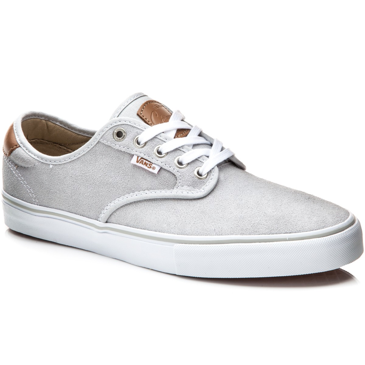 Vans Chima Ferguson Pro Shoes - Light Grey/White - 8.0